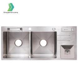 Modernes Edelstahl-Küchenspüle Waschbecken Waschbecken Mit Einer Schüssel Badezimmer Ausrüstung