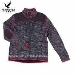 100% polyester de haute qualité en bonneterie Vêtements femmes/hommes Fashion Veste d'hiver