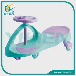 كلّ طازج [بّ] مادّيّة طفلة أرجوحة سيارة طفلة عمليّة ركوب على سيارة مع لون موسيقى وضوء جدي أرجوحة لعبة