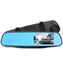 Monitor in-car Câmara Espelho Gravador de condução Veículo Blackbox DVR