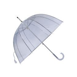 Пластиковый купол удалите зонтик ПВХ Прозрачный купол с белым J ручки