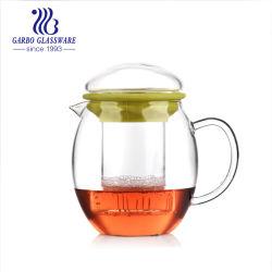 650ml de parede de vidro Pyrex chávena de chá com pega com Infuser para chá quente bebendo (GB540110650)