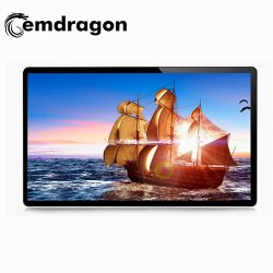 Moniteur LCD ultra-fin de diffusion Montage Mural Digital Signage 49 pouces LCD numérique de la sécurité des écrans publicitaires épissage Signalisation numérique LCD