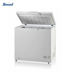 Comercio al por mayor precio competitivo compresor congelador horizontal de la puerta de espuma