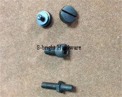 OEM Aangepaste Precisie Gegalvaniseerde CNC Bevestigingsmiddel van het Ijzer van de Draaibank (F-119)