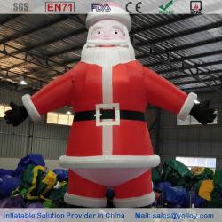 Santa Claus inflables para la decoración de Navidad