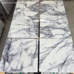 Belo o granito/lajes quartzito Gold/Preto/Vermelho/Branco Calacatta Lilás azulejos de mármore para piso interior decoração Bancadas de parede