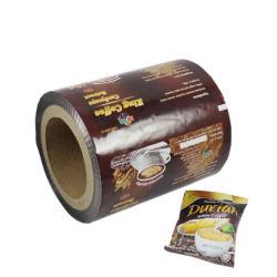 관례는 플라스틱 패킹 롤필름을 포장하는 자동적인 박층으로 이루어지는 알루미늄 호일 음식 커피 향낭 지팡이 팩을 인쇄했다