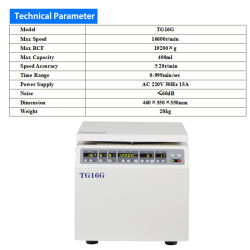 High Speed centrifuge Labware Electronic Chemistry-refrigator Sperma Multipurpose centrifuge Laboratoriumapparatuur