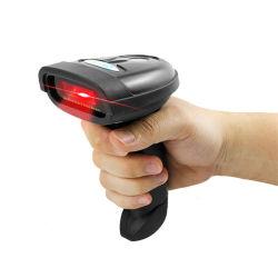 Lector de mano de láser de alta velocidad 2.4G Wireless Scanner de códigos de barras láser con CE, Rosh, FCC
