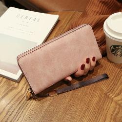 Бумажник женщин долго Wallet новый Корейский дамской сумочке многофункциональный пакет карт для мобильных ПК пакет Carteras Mujer кошельки кошелек
