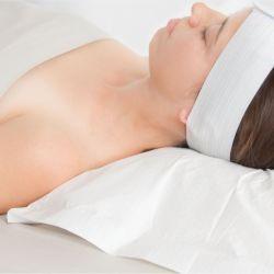 ポリエステル 100% ニット枕カバープロテクタケース最高の製品 使用ベッドがスリープ状態です