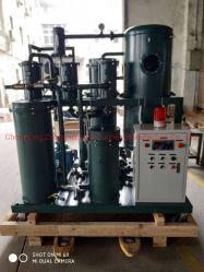 Máquina de purificação de petróleo bruto pesado, utilizados equipamentos de regeneração de óleo do motor do navio