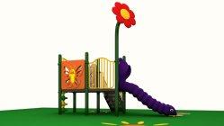 ملعب للأطفال اللعب في الحديقة مع كاستال منزلقة المتسابق أرجوحة في الخشب من الفولاذ المقاوم للصدأ المواد تصميم من سعر جيد