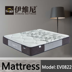 王ホテルの学校のためのクイーンサイズの自然な乳液の健康のベッドの泡のスプリング入りマットレス