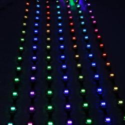 LEDのコントローラが付いている純網目スクリーン妖精ピクセルライト