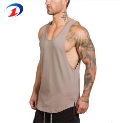 Athletic Performance de coton pour hommes T-Shirt sans manches Muscle