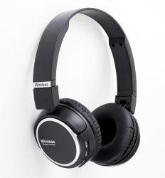Faltbarer Typ kundenspezifischer leistungsfähiger Schlag-Ton Bluetooth Stereokopfhörer-drahtloser Kopfhörer mit TF-Karte und FM Radiofunktion für iPhone, Computer, Smartphone und PC