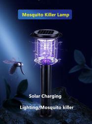 LED de luz solar Anti-Mosquito paisaje luces Lámpara de Asesino de mosquitos al aire libre