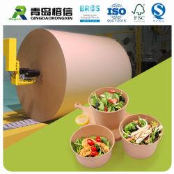 Togliere impermeabile al grasso impermeabile ricoperto PE del rullo enorme di Cupstock della carta kraft del contenitore di alimento