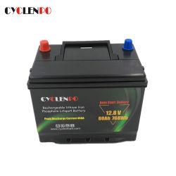 Hohes der CCA-LiFePO4 Selbstlithium-Ionenankurbelnder Satz anfangsautobatterie-12V 60ah mit BMS Schutz