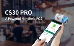 شاشة تعمل باللمس الكل في نقطة البيع الطرفية لنظام Android 10.0 Cash التسجيل