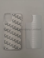 2D Unbelegter Sublimation-Handy-Plastikdeckel für iPhone Fall