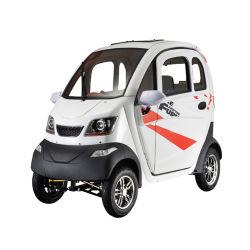 الصين 4 ويلر 1200 واط محرك كبار السن 3 مقاعد ميني متوسط سيارة كهربائية في المدينة