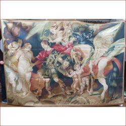 لوحة زيتية صورة الدين الأوبوسيون تصميم شقة من نسيج اليد نسيج فرنسي معلق على الطراز الأوروبي