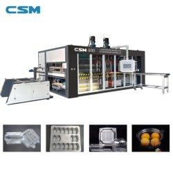 PP/PVC/PET/PS/PSP Bandeja automática máquina de hacer la placa desechable Bandeja// caja de Pan/// Contenedor Tapa de plástico Máquina termoformadora de plástico procesamiento