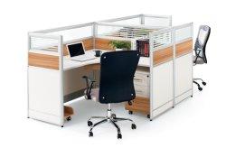 Forme de l'aluminium moderne en verre de partition de la station de travail de bureau Mobilier de bureau (M-W1807-2)