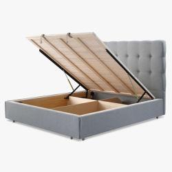 Basi King-Size stabilite della mobilia moderna della camera da letto singole doppie con memoria