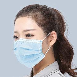 도매 제조자 세균성 방어적인 Non-Sterile 처분할 수 있는 의학 외과 3은 호흡 방패 가면 세륨 FDA를 부지런히 쓴다