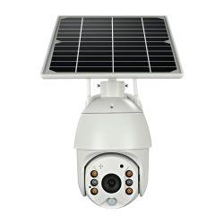 1080P 4X 디지털 급상승 태양 4G/Wireless 옥외 방수 PTZ CCTV 감시 카메라