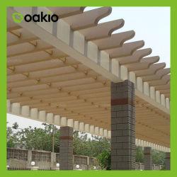 Compuesto de plástico madera Pergola/Jardín Pérgola Gazebo/WPC