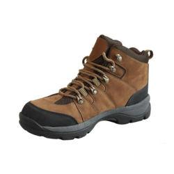 حذاء مشي خارجي فاخر من الجلد الطبيعي مع حذاء مشي من أعلى الجل
