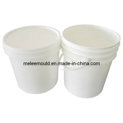 Verf van de Emmer van de Matrijs van de Vorm van de Verf van de Injectie van de Emmer van China de Professionele Plastic 2.5L 5L 6L 8L 10L 16L 18L 20L met de Kuiper van het Beryllium (MELEE vorm-236)