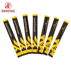 Aangepaste papieren hoes Bamboo Chopsticks voor eenmalig gebruik voor Sushi