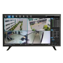 Ecrã LCD a cores de vigilância de LED Mini Câmaras de TV Display1080p 4 K IP CCTV monitor do PC