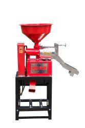 Linjiang 6NF-4 fresadora moinho de arroz Arroz Zinc-Coating única Máquina máquina de descasque de arroz máquinas de transformação do arroz