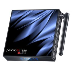 قلادة 6K طراز X11 PRO محول رقمي طراز H616 Tx6 4K Ultra تلفزيون Smart Box بنظام Android عالي الوضوح إصدار 64 بت وسعة 4 جيجابايت
