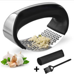 Küche-Gerät-Edelstahl-Handingwer-Knoblauch Presser