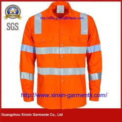いろいろな種類の反射保護安全仕事着のワイシャツによってはW2463が喘ぐ