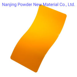 Film de revêtement solide de pulvérisation électrostatique de se froisser la texture de revêtement de poudre de polyester de plein air