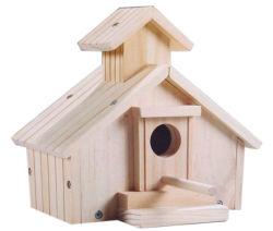 De grote Kleine Houten Kooi van de Vogel, Huis van de Vogel van de Douane het Houten, het Goedkope Houten Nest van de Vogel