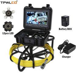 9 インチ TFT スクリーン 23 mm 水中井戸検査カメラ( DVR/20 m パイプ点検用ケーブル
