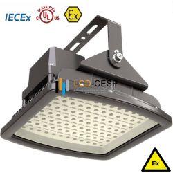 UL Equipamentos elétricos com protecção contra explosões de iluminação LED de luz LED de elevada resistência mecânica PI66 IK09 Lâmpadas LED de exterior para atmosferas explosivas de gases