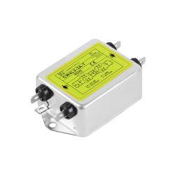 Conexión de inserción de purificación monofásico filtro EMI ANTIPARÁSITA CW4L2-3A/6A/10A/20A-T Filtro de alimentación