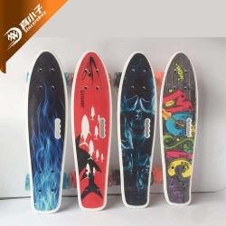 لوحة سمكة المصنع 22 بوصة للوح التزلج البلاستيكي للأطفال