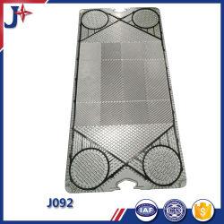 J092 SS304/SS316L/titane/SMO254/C276 et la plaque de châssis de la plaque de l'échangeur de chaleur